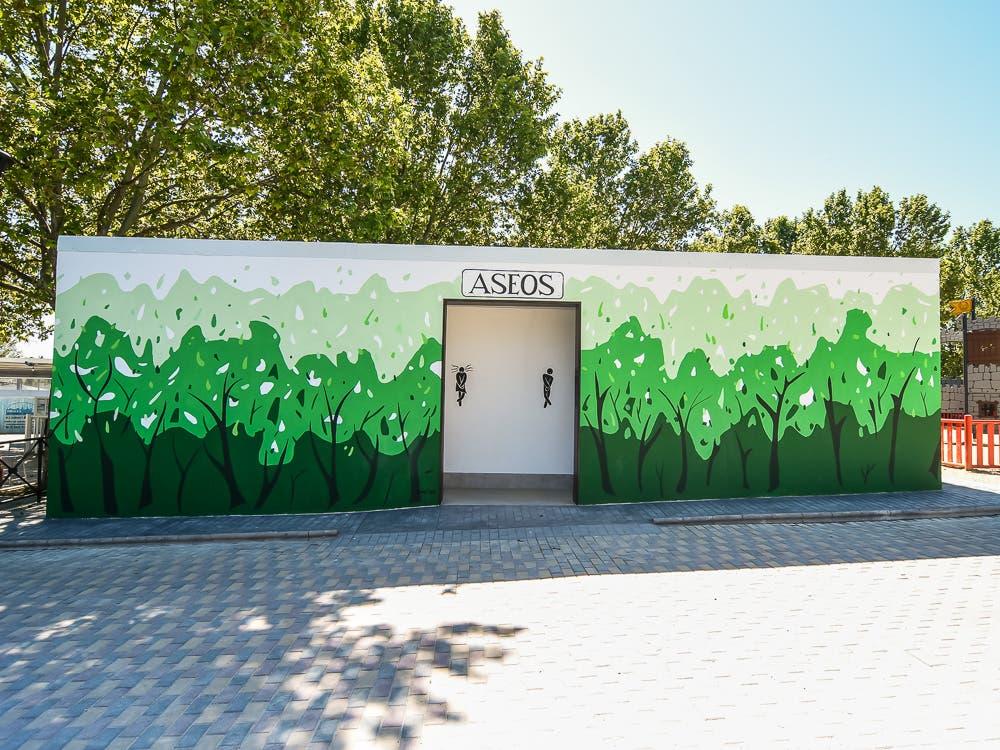 El Parque Europa de Torrejón de Ardoz cuentacon un nuevo edificio de aseos
