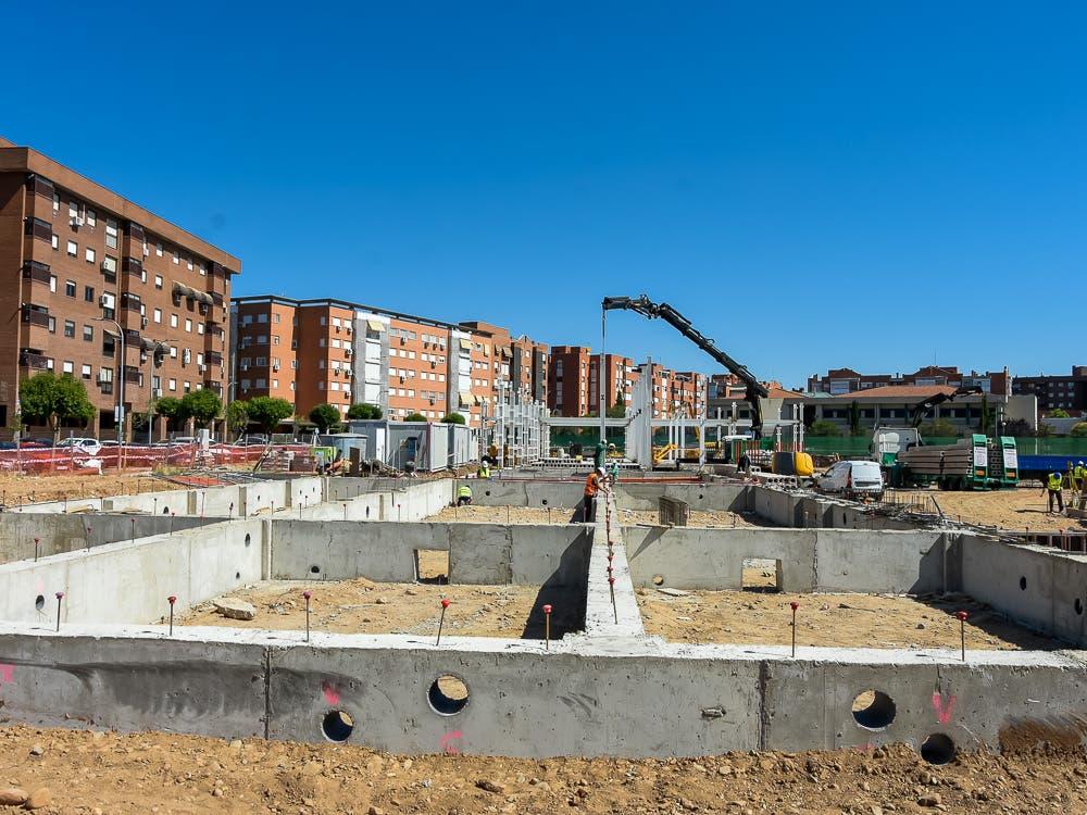Avanzan las obras del nuevo colegio público de Educación Especial de Torrejón de Ardoz