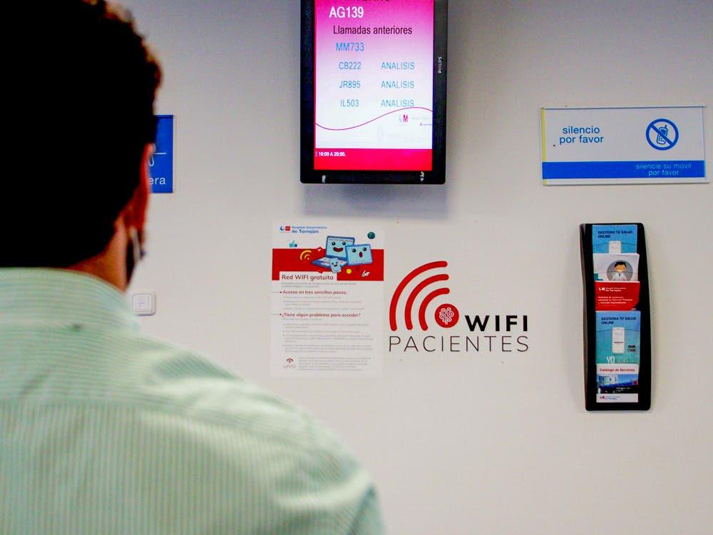 El Hospital de Torrejón de Ardoz ofrece wifi gratuito y abierto para pacientes