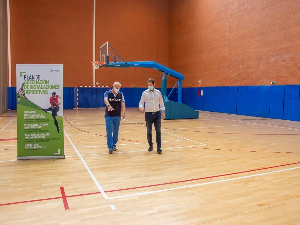 Torrejón de Ardoz invierte más de un millón de euros para mejorar instalaciones deportivas