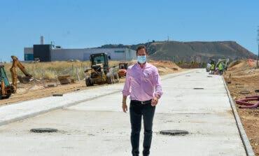 Avanzan las obras de la segunda fase de la Ciudad Deportiva de Torrejón