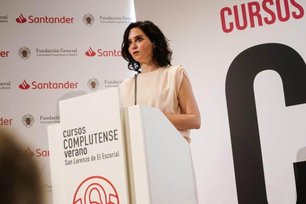 Ayuso descarta nuevas restricciones en la Comunidad de Madrid: «Por ahora vamos bien»