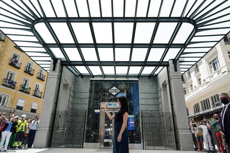 Abierta al público la nueva estación de Metro de Gran Vía, pionera en Europa