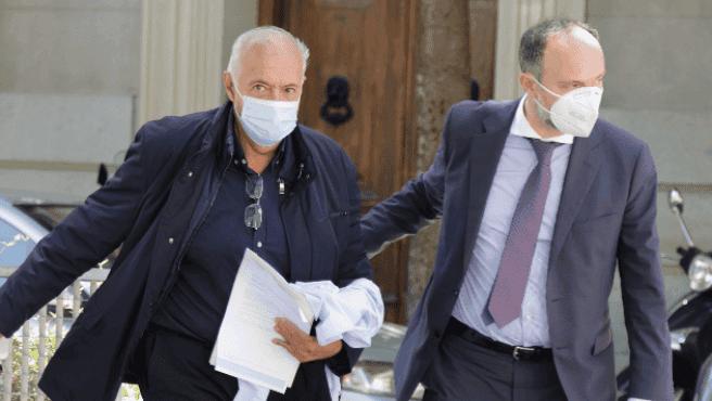 José Luis Moreno, en libertad bajo fianza de tres millones de euros
