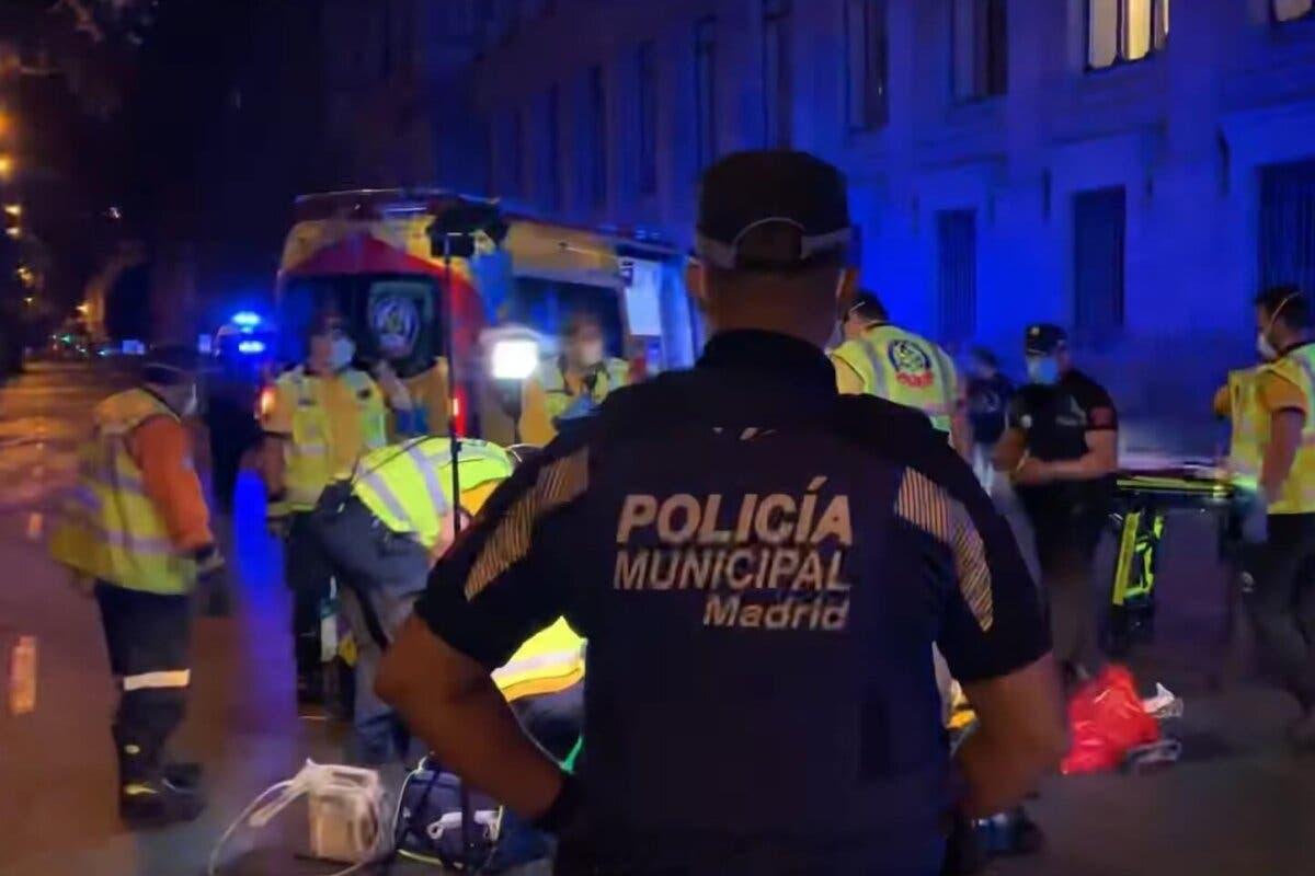 Buscan a un conductor fugado tras un atropello mortal en Madrid