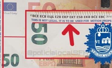 Detectado un nuevo intento de pago con billetes falsos en San Fernando de Henares