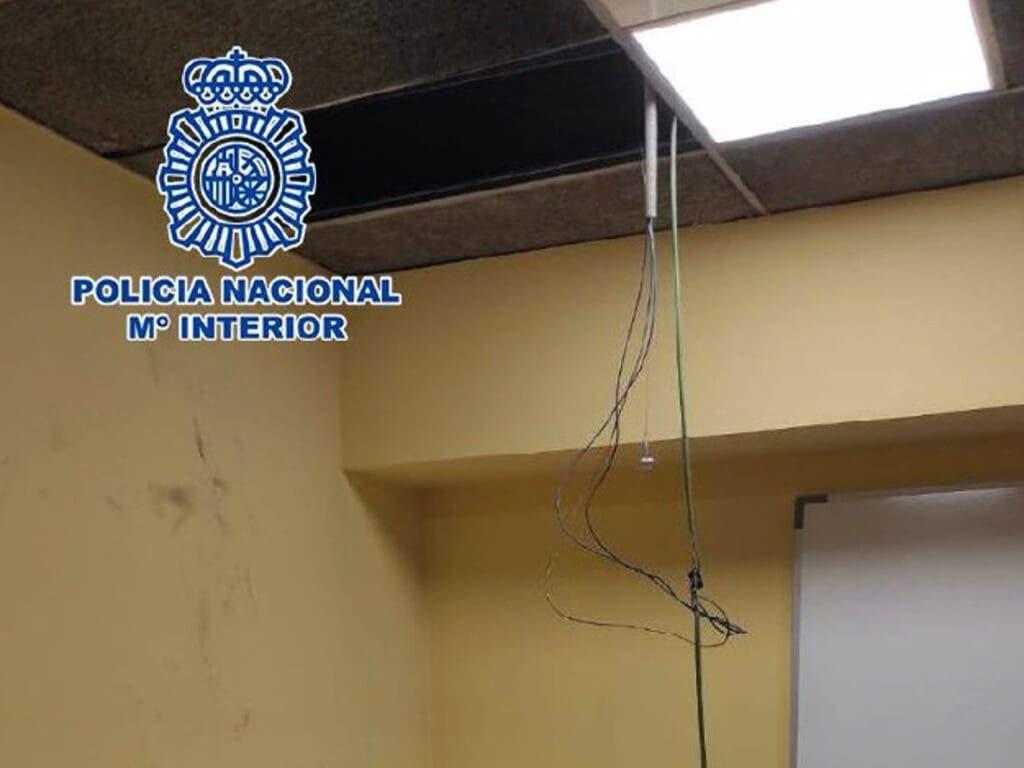 Detenido en Madrid un ladrón que llevaba dos días atrapado en un conducto de ventilación