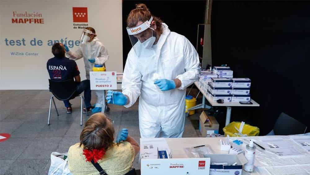 El Wizink Center amplía hasta el 30 de septiembre los test gratuitos de antígenos