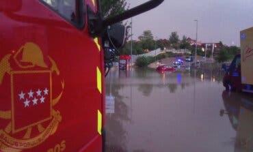 Madrid vivió la tormenta más intensa para un mes de agosto desde 1947
