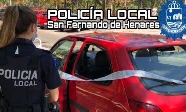 Detenido en San Fernando de Henares tras intentar robar dos vehículos