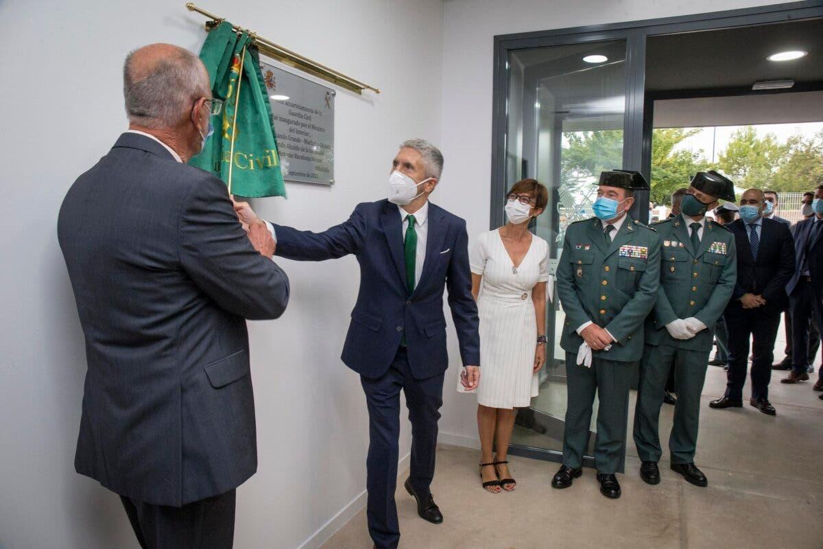 Marlaska inaugura el nuevo cuartel de la Guardia Civil en Villallbilla