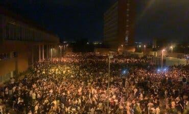 Un macrobotellón en Madrid reúne a 25.000 jóvenes en Ciudad Universitaria