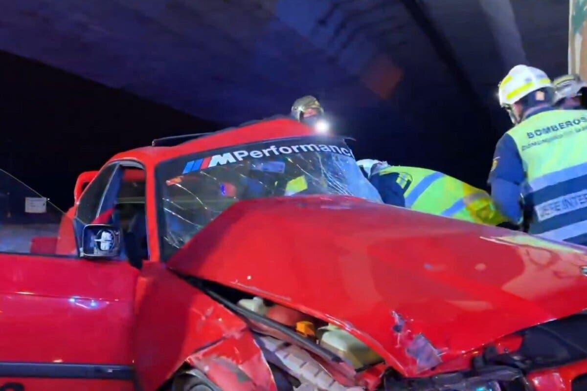 Muere un conductor de 23 años en un accidente en Alcalá de Henares