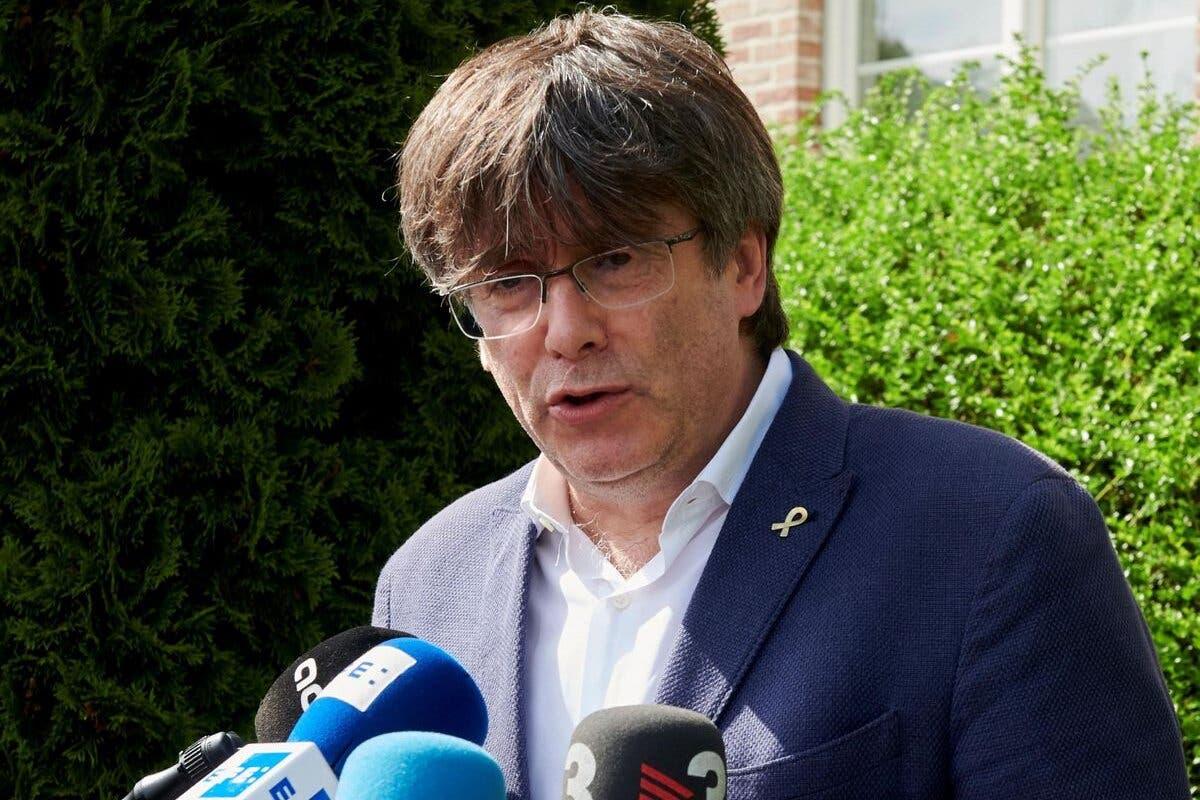 Puigdemont queda en libertad, aunque no podrá salir de Cerdeña