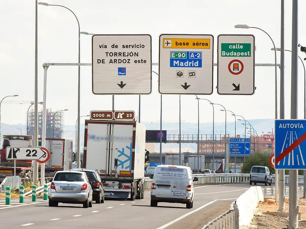 Ya está abierto el acceso desde la A2 a Torrejón por la calle Budapest