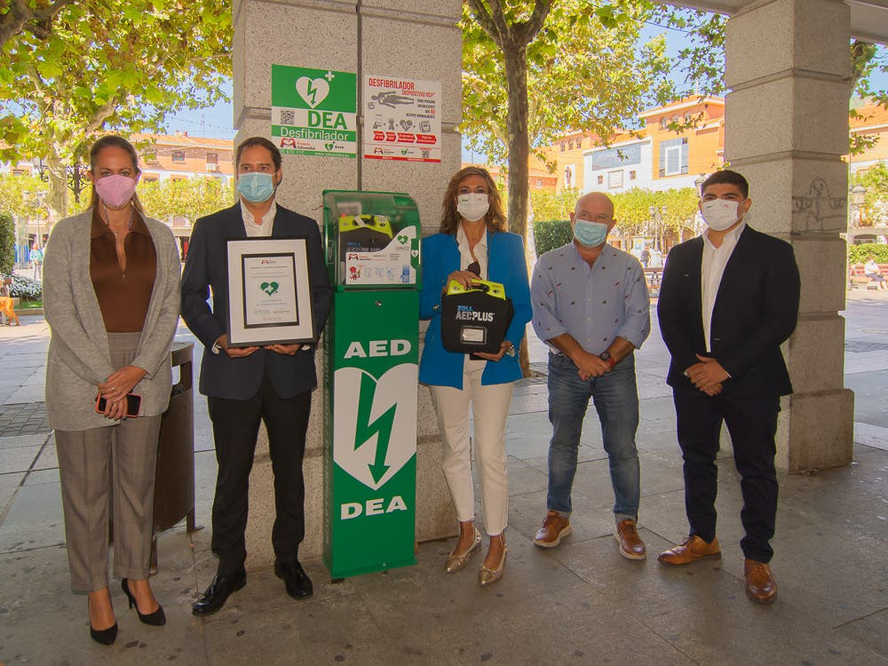 Torrejón de Ardoz recibe el certificado de ciudad cardioprotegida