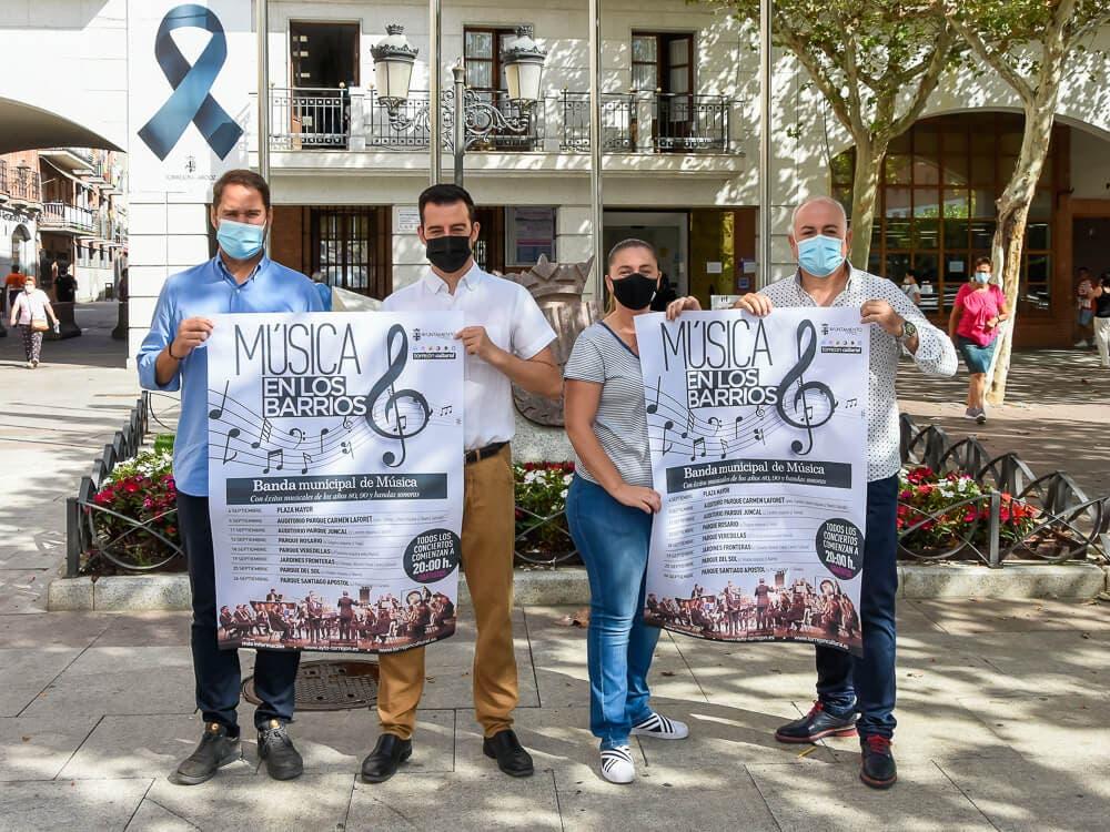 Torrejón de Ardoz lanza en septiembre la iniciativa cultural gratuita «Música en los barrios»