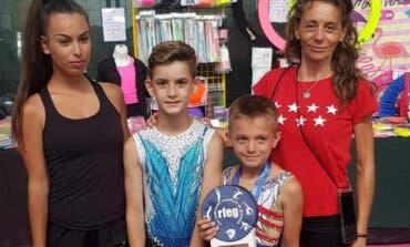 Un niño de Torrejón logra tres medallas en el Campeonato de España de gimnasia rítmica