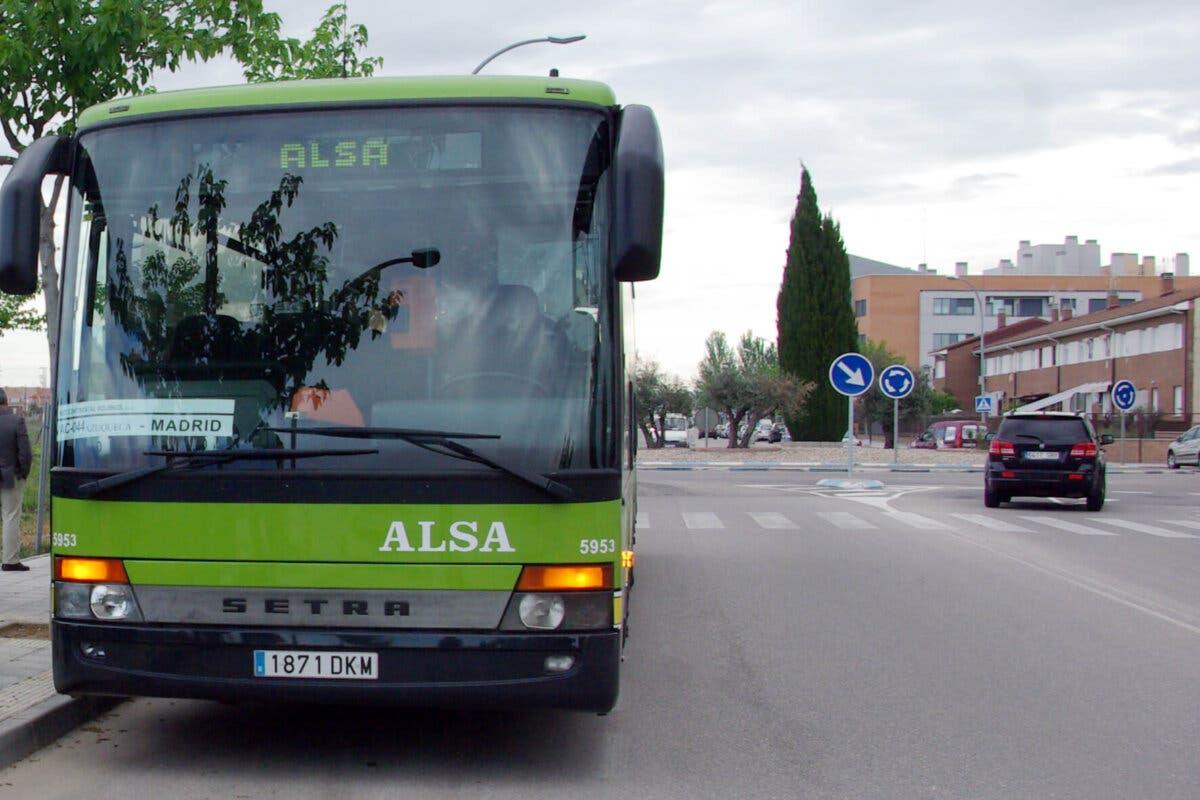 Desde este lunes, nuevo autobús desde Azuqueca a Madrid por la mañana