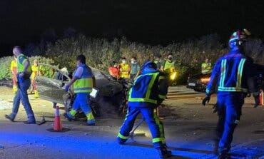 Muere al estrellar su coche en una rotonda en la carretera dela Warner