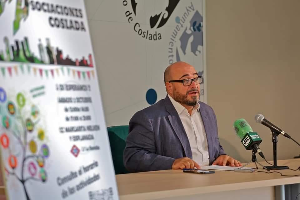 Más de cincuenta entidades participarán en la Feria de Asociaciones de Coslada