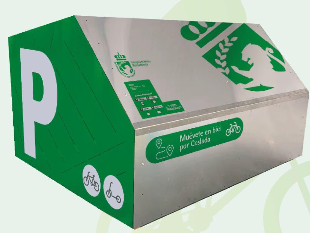 Coslada instalará un bicihangar en las inmediaciones de la estación de Cercanías