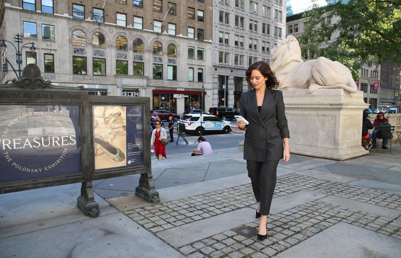 Ayuso continúa su gira por Estados Unidospara atraer inversión extranjera a Madrid