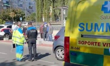 Herido un niño de 10 años tras ser atropellado por un coche en Getafe