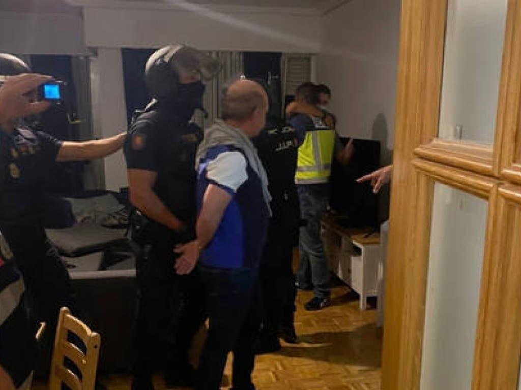 La Policía detiene en Madrid a Pollo Carvajal, exgeneral chavista fugado y reclamado por EEUU