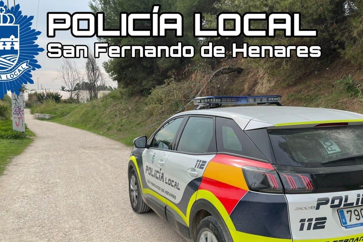 Muere un hombre en un camino de San Fernando de Henares