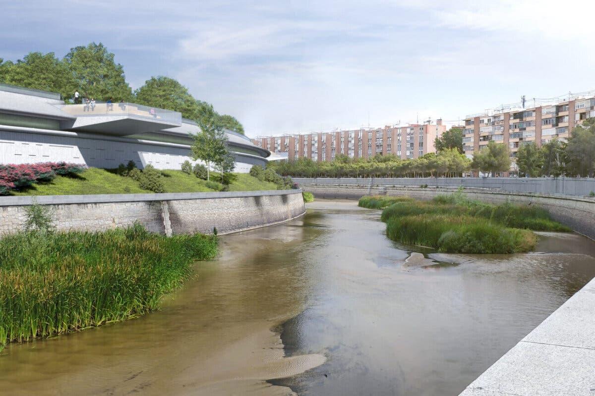 Las obras de cubrimiento del entorno Mahou-Calderón ocuparán uno de los carriles de la M-30
