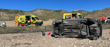 Muere un niño de 9 años en un accidente de tráfico en Valverde de Alcalá