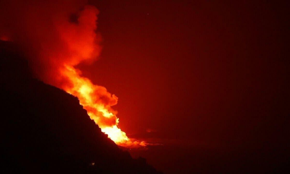 La superficie ocupada por la ceniza del volcán se eleva a 3.304 hectáreas
